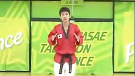 【侯韧杰 TKD 教学篇】之 MOTOO官方跆拳道舞教学6