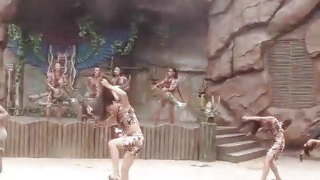 原始部落的男人、女人