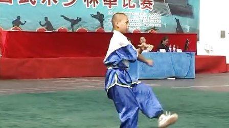 2013年全国武术少林拳比赛 男子少林朝阳拳 007 李佳恒(河南)
