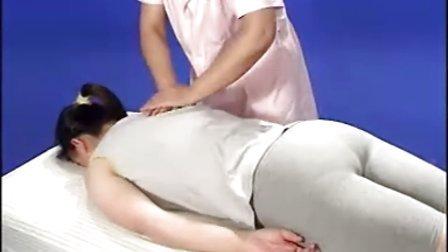 掌揉背腰部视频演示(北京成人按摩培训学校提供)