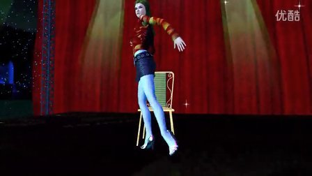 椅子舞 3D动画