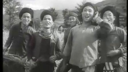 黑白故事片《山间铃响马帮来》1954