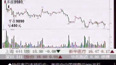 09年9月18日孟一CCTV证券资讯-期货时间