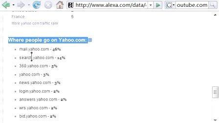 007网站排名alexa