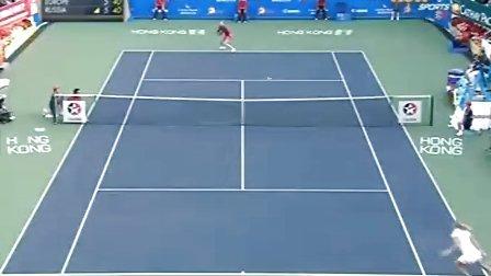 2010香港表演赛决赛 莎拉波娃VS沃兹尼亚奇 (自制HL)