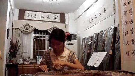 蒋冰柔古筝演奏六级双手弹奏练习曲