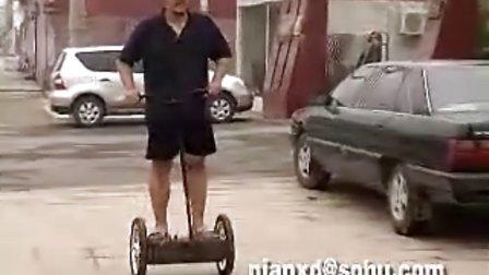继续我的山寨SEGWAY(两轮平衡车)测试