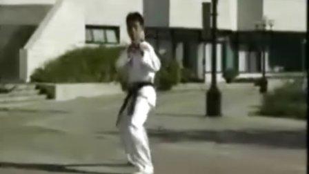 跆拳道步法基础训练