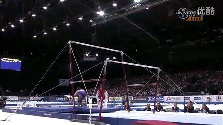 2013年世界体操锦标赛女子高低杠决赛 黄慧丹夺冠