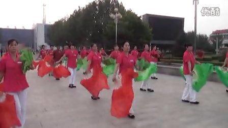 遵化市金缘广场扇子舞12十八的姑娘一朵花