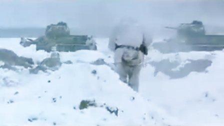 电影《斯大林格勒》片段之雪地里的战斗