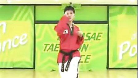 【侯韧杰 TKD 教学篇】之 MOTOO官方跆拳道舞教学2