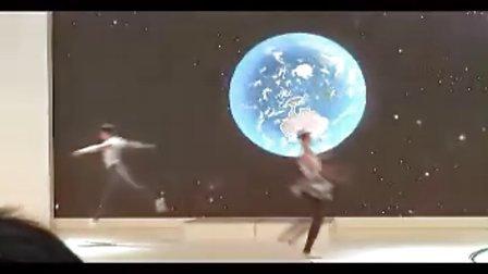 雍荣文化外籍舞团车展舞蹈表演