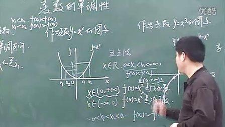 优酷网-高一数学优质示范课《函数的单调性》1