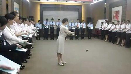 招商银行福州分行服务礼仪培训剪影