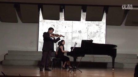 Wen-Zhen Ni倪文震小提琴独奏会莫扎特降b大调小提琴奏鸣曲第二三章