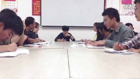 2013年江西农业大学经管院语言文化部第五轮模辩B组(立论)