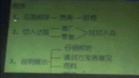 刘颖 (双金钻)直销运作实战技巧(如何ABC、一对一)01