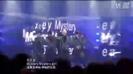 【屍亼Э杉】Beast《Mystery》韩语中字LIVE100117SBS人气歌谣