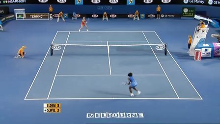WTA.2009.Austalian.Open.SF.S.Williams.vs.Dementiev