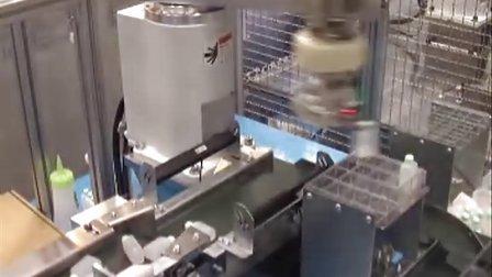 机器人视觉定位抓取药瓶