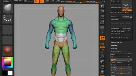 【cgcloud】zbrush projection all-zbrush映射技巧全集