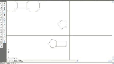 25.AutoCAD2010视频教程 旋转、镜像、拉伸的方法1