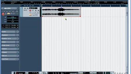 18、菜鸟变凤凰电脑音乐教程Nuendo 3 音频素材的快速变调