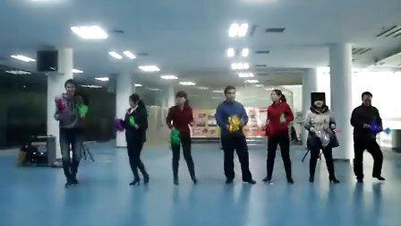 《甩葱舞》改编彩排