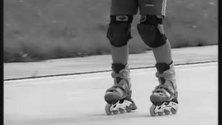 旱冰鞋教程_初级轮滑教学_2