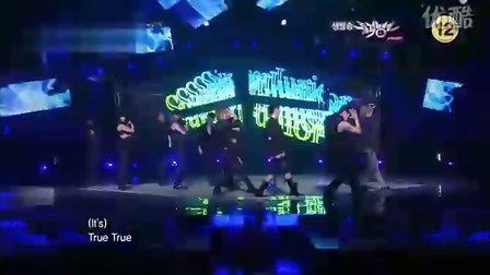 100528 KBS 音乐银行 SuperJunior - Bonamana一位[KRMTV]