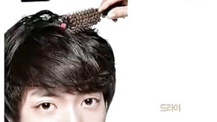 韩国 专业发型 蓬松自然优雅浪漫的男生发型 适合长脸 小脸