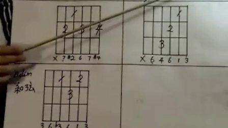 美邦乐器 --- 吉他初级教学视频66