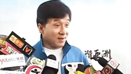 成龙为亚运会歌曲上海拍MV