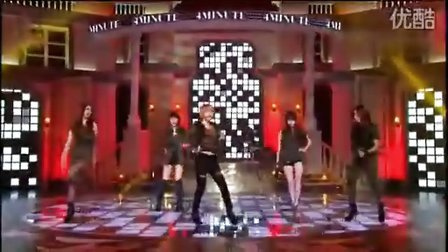 101225 MBC音乐中心4minute-I My Me Mine  Huh现场版