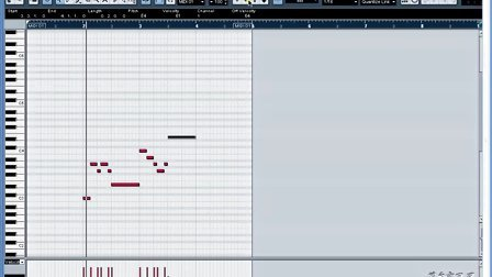 09、MIDI编辑窗口