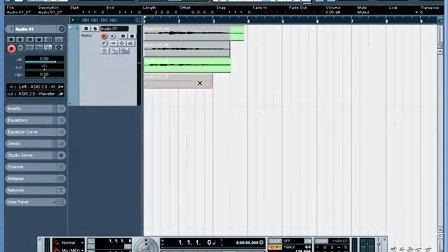 17、菜鸟变凤凰电脑音乐教程Nuendo 3 录音模式
