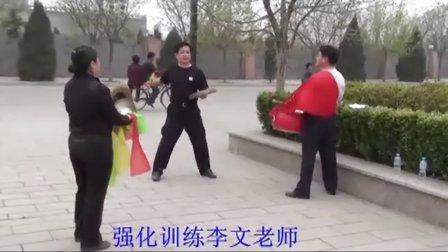 威风锣鼓训练花絮 王教练13068025686
