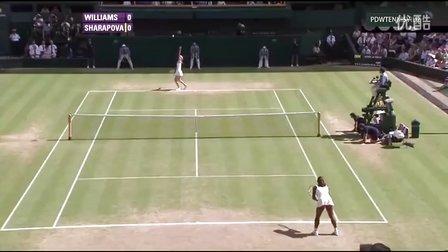 2010温布尔登网球锦标赛女单R4 莎拉波娃VS小威廉姆斯 HL