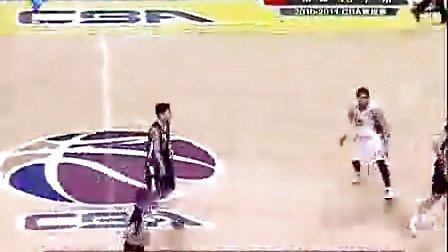 2010-2011CBA 山西VS广东全场回放 110109 广东体育频道