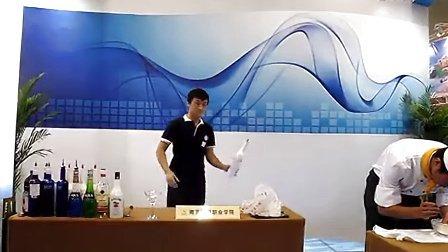 翟川上海市商贸旅游学校花式调酒 高清