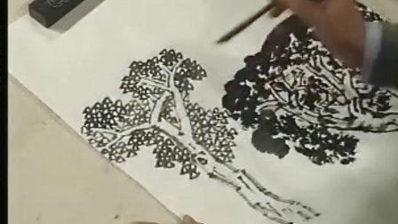 徐建明山水画法 3四季树画法