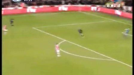 全场-曼联3-1双杀阿森纳 纳尼传射鲁尼进百球