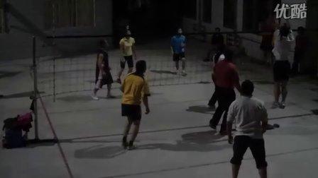 气排球训练1