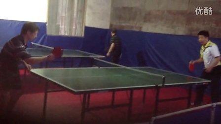 长胶攻打上旋球训练(1)