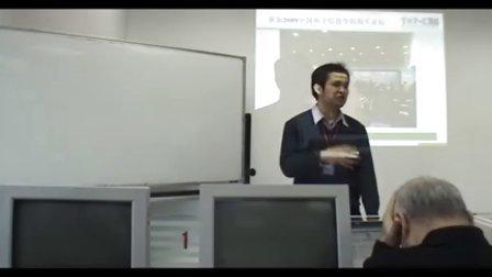 李亚锋老师阐述《2010年寒假全国嵌入式系统教学研讨与师资培训》举办的重大意义