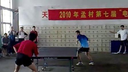 河北省孟村回族自治县第七届电力杯乒乓球赛团体决赛