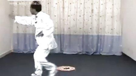 八卦掌姜八掌第四掌教学片-黄鑫