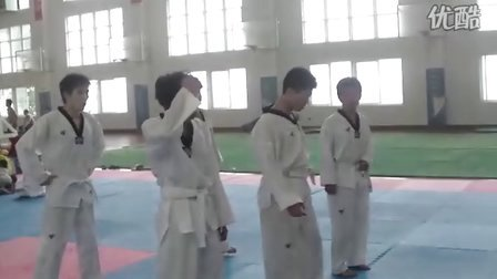 我的跆拳道教学视频