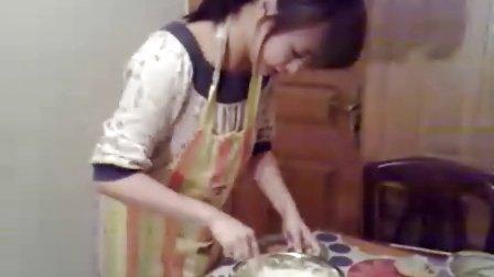 sunny老师的戚风蛋糕卷(ps:超级好吃哦哈哈)2